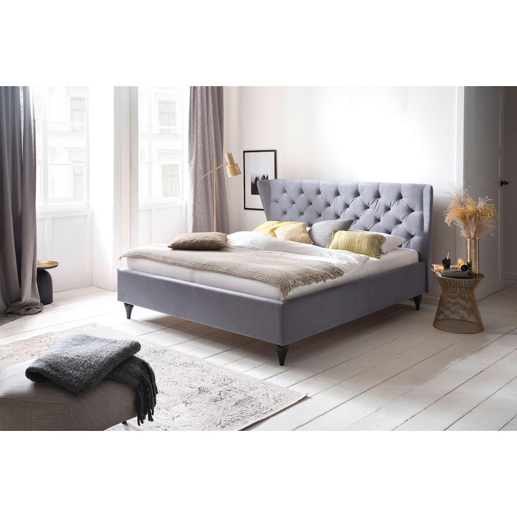 Guido Maria Kretschmer Home&Living Polsterbett »Apart«, wahlweise mit Lattenrost und Matratze