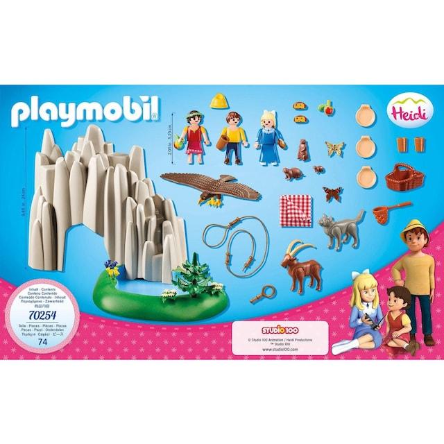 "Playmobil® Konstruktions-Spielset ""Am Kristallsee mit Heidi, Peter und Clara (70254), Heidi"""