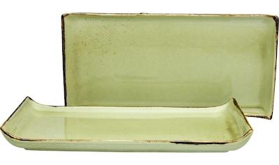 """CreaTable Servierplatte """"NATURE COLLECTION"""", Steinzeug, (1 - tlg.) kaufen"""