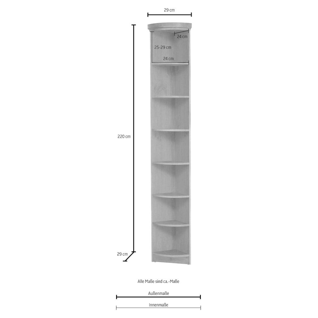 Home affaire Anbauregal »Soeren«, Höhe 220 cm, Tiefe 29 cm