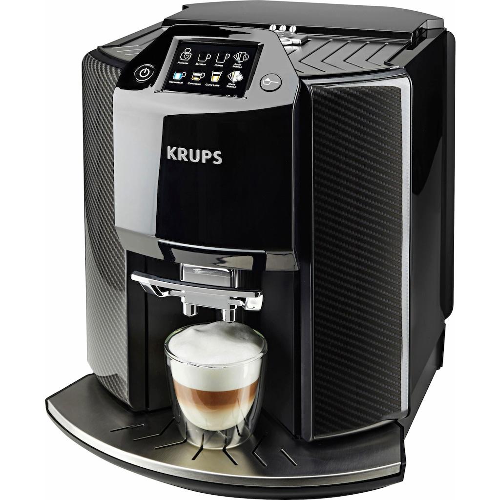 Krups Kaffeevollautomat »EA9078 Barista New Age«, Carbon, Espresso-Vollautomat, auch für gemahlenen Kaffee