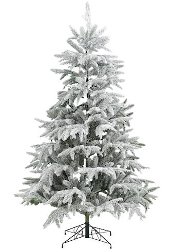 my home Künstlicher Weihnachtsbaum, Edeltanne, mit Schnee, inkl. Metallständer kaufen
