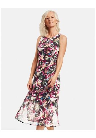 GERRY WEBER Kleid Gewebe »Maxikleid mit Wickeldetail« kaufen