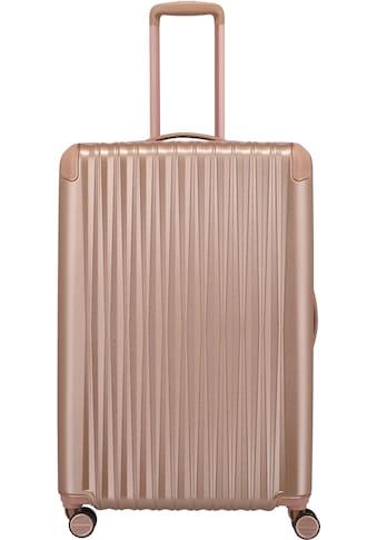TITAN® Hartschalen-Trolley »BARBARA & TITAN®, Barbara Glint 77 cm, Rose Metallic«, 4... kaufen