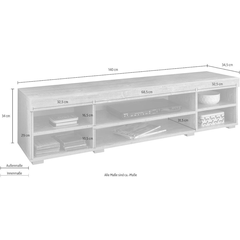 Wilmes Lowboard »Flint«, Breite 140 cm