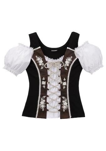 Stockerpoint Trachtenshirt Damen mit Carmenausschnitt kaufen