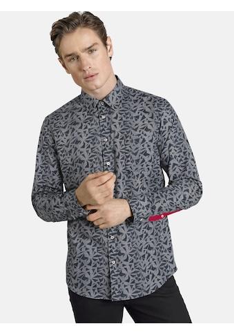 SHIRTMASTER Langarmhemd »blacktea«, mit kurzem Kentkragen kaufen