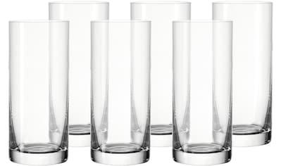 LEONARDO Longdrinkglas »Limited«, (Set, 6 tlg.), 350 ml, spülmaschinengeeignet, 6-teilig kaufen