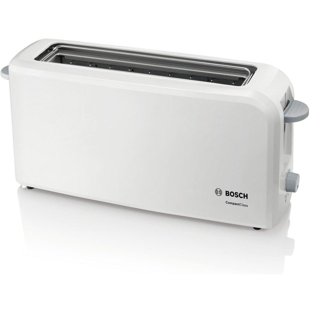 BOSCH Toaster »CompactClass TAT3A001«, 1 langer Schlitz, 980 W