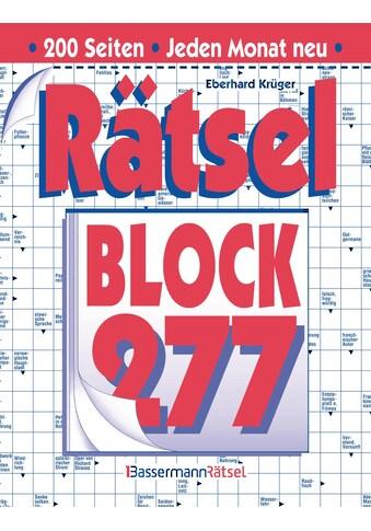 Buch »Rätselblock 277 (5 Exemplare à 2,99 EUR) / Eberhard Krüger« kaufen