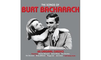 Musik-CD »The Songs Of Burt Bacharach / Various« kaufen