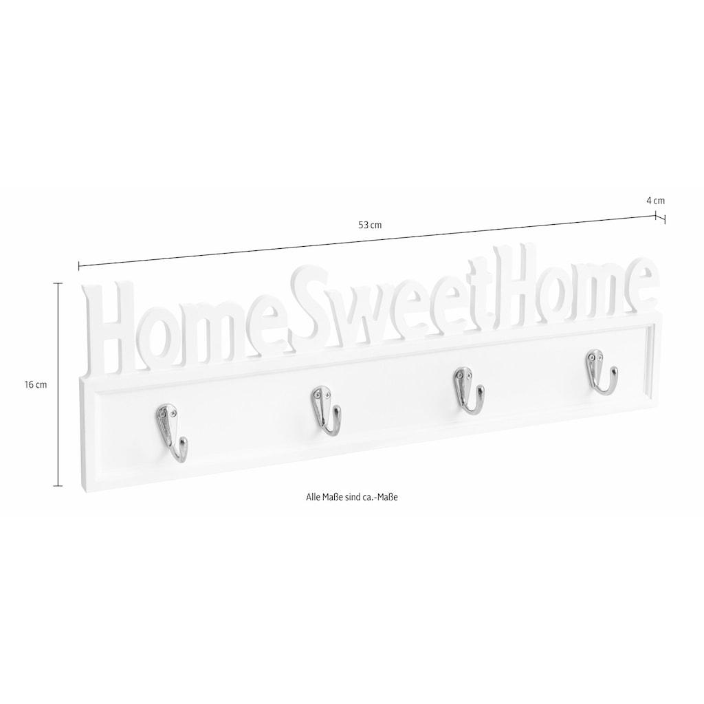 Home affaire Hakenleiste »Home Sweet Home«