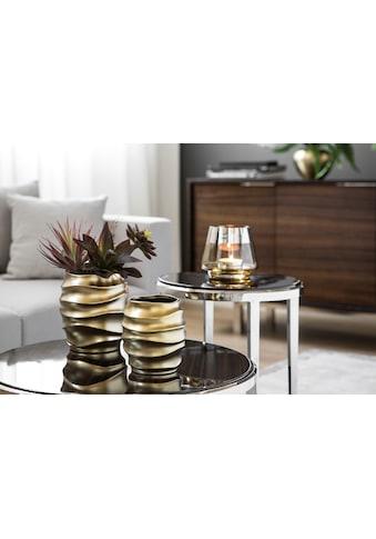 Fink Übertopf »FABIA, goldfarben«, (1 St.), handgefertigt, aus Keramik, verschiedene... kaufen