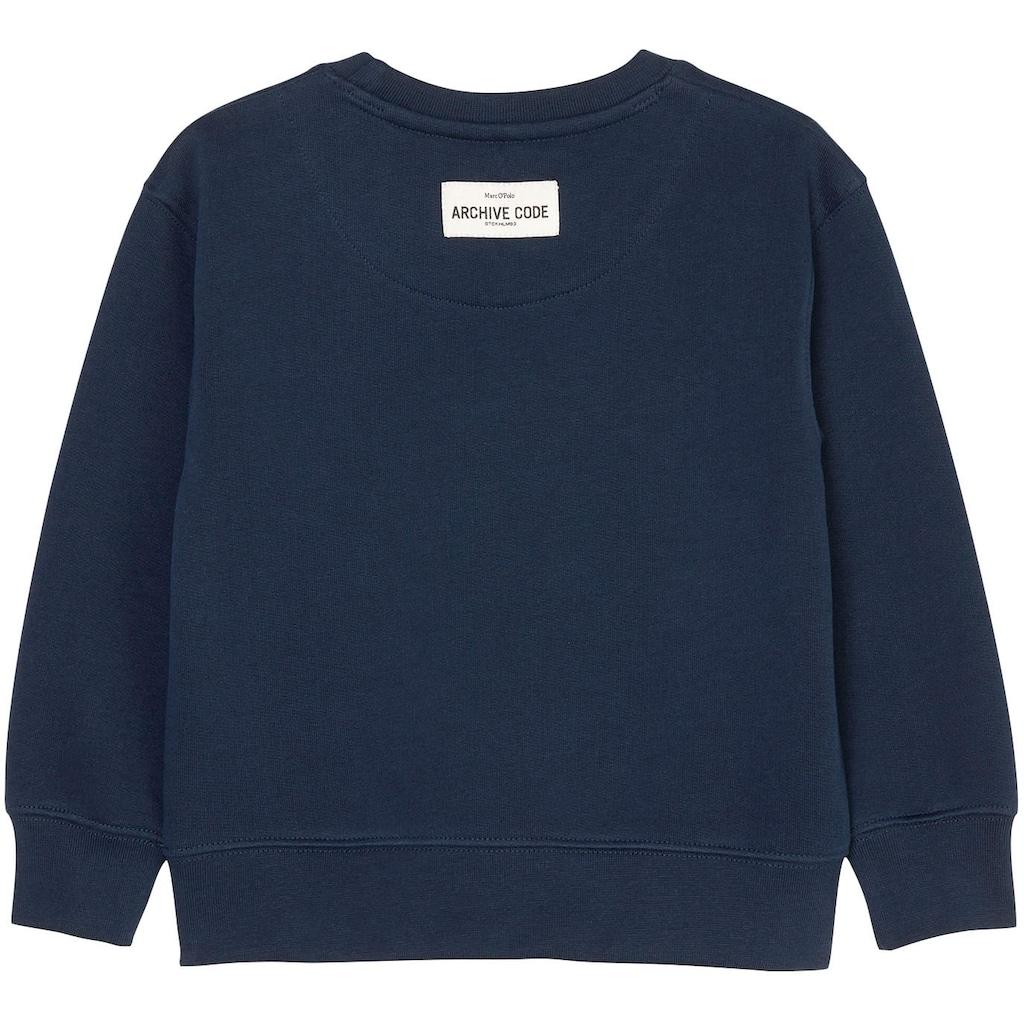 Marc O'Polo Junior Sweatshirt, mit Markenlogo