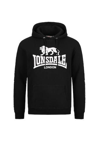 Lonsdale Kapuzensweatshirt »YAPTON«, mit großem Markenprint kaufen