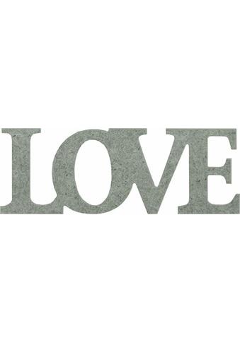 Wall-Art Dekoobjekt »Love«, 54/20 cm kaufen