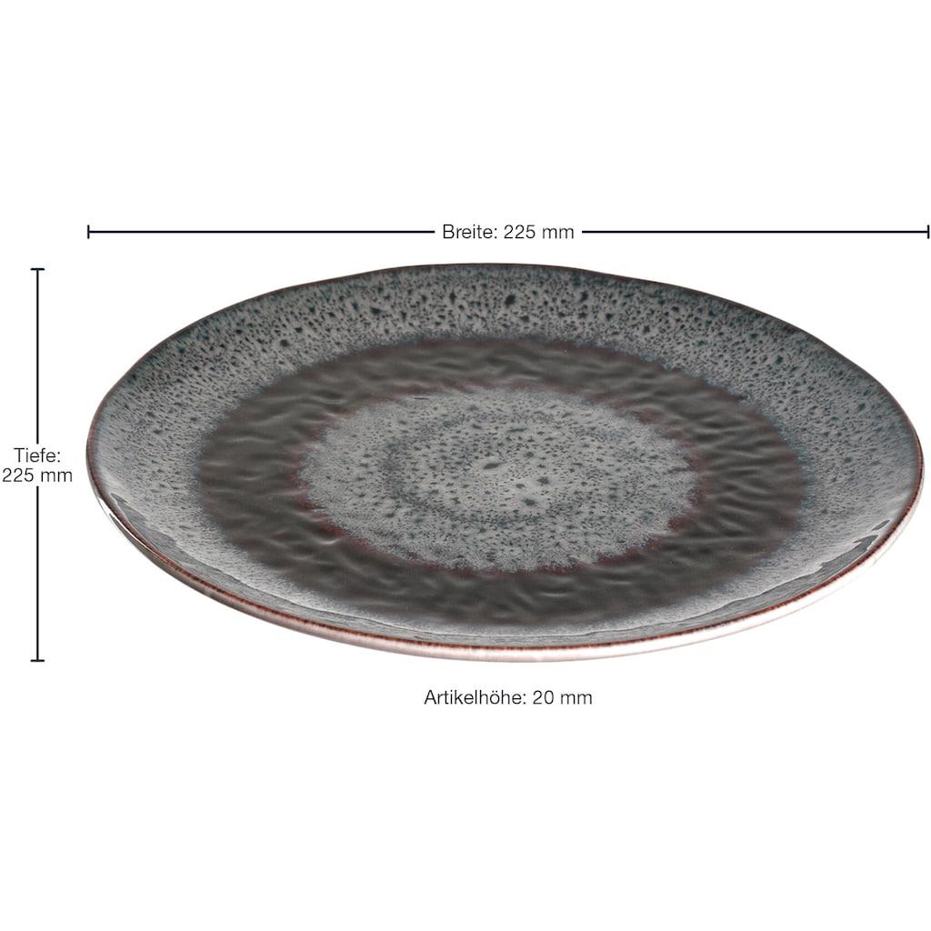 LEONARDO Dessertteller »Matera«, (Set, 6 St.), Keramik, Ø 23 cm