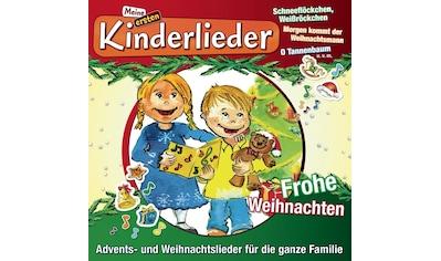 Musik - CD Meine Ersten Kinderlieder - Frohe Weihnachten / KINDERLIEDERBANDE, (1 CD) kaufen