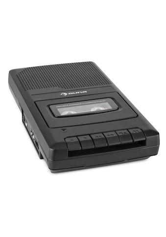 Auna RQ-132 portabler Kassettenrekorder Diktiergerät Tape Record kaufen