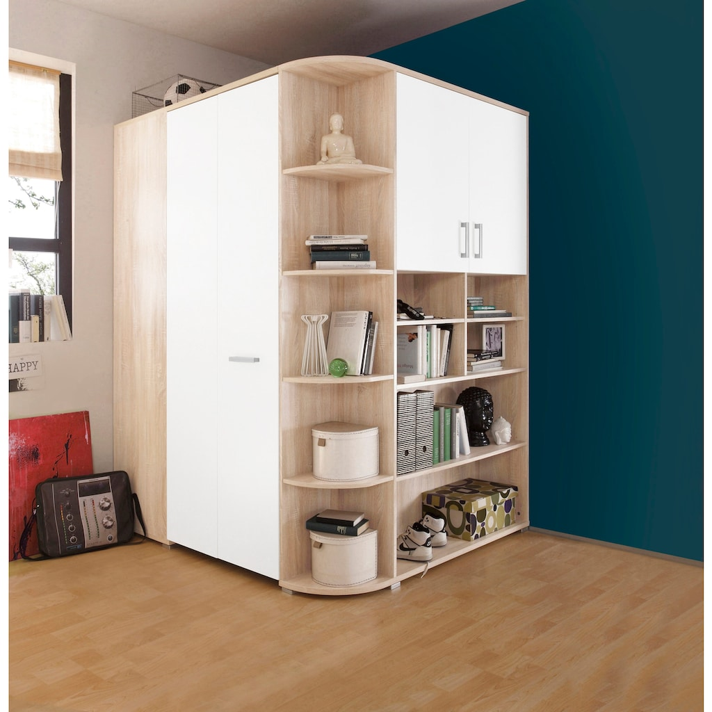 Begabino Eckkleiderschrank »Corner«, begehbar