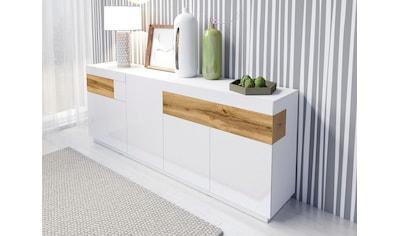 Helvetia Sideboard »SILKE«, Breite 218, 5 cm kaufen