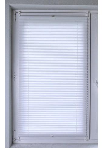 Kutti Plissee »Brisa«, Lichtschutz, ohne Bohren, verspannt, Lichtschutz kaufen