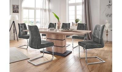 Homexperts Essgruppe »Bonnie«, Breite 140 cm mit Auszug und 4 Stühlen kaufen