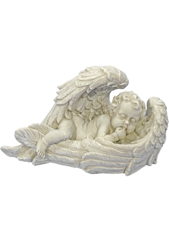 Casa Collection by Jänig Engelfigur »Engel auf der Seite in großen Flügeln liegend, B... kaufen