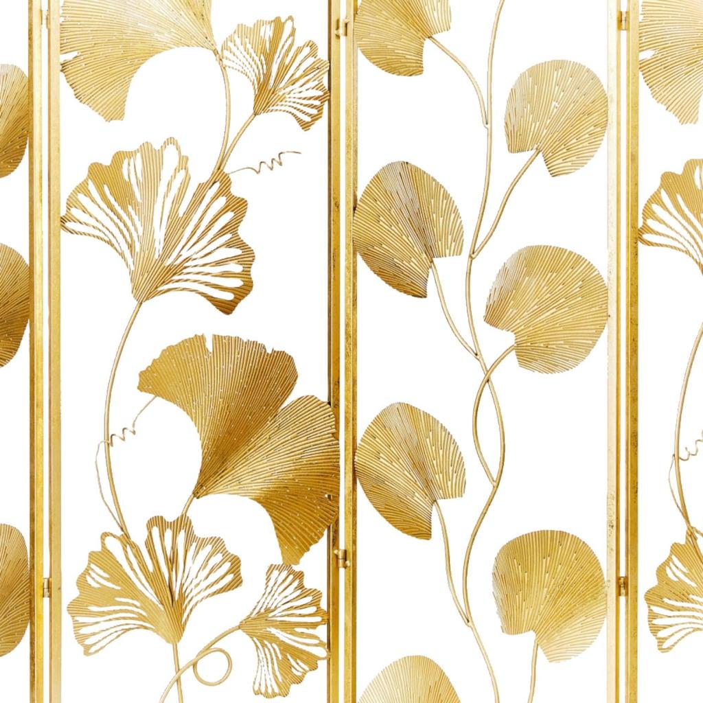 Schneider Paravent »Paravent Golden Leaves«, Art déco Design