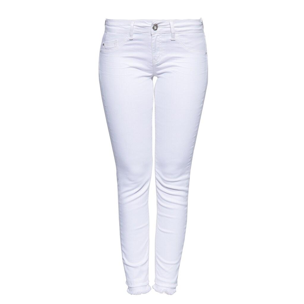 ATT Jeans 5-Pocket-Jeans »Leoni«, im femininen Design mit offenen Saumkanten