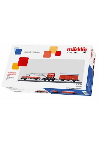 Märklin Modelleisenbahn Startpaket »Märklin Start up - Feuerwehr Bergkran Set - 44752« kaufen