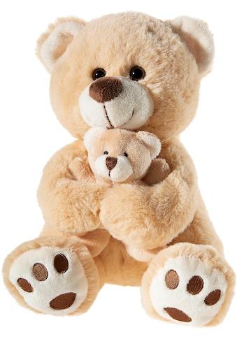 """Heunec® Kuscheltier """"Bär mit Baby, hellbraun"""" kaufen"""