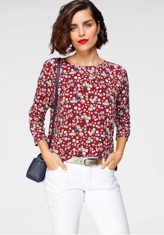 Tamaris Schlupfbluse, mit Knopfdetail am Rücken kaufen