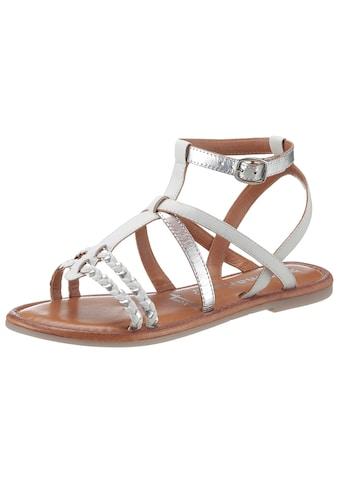 Tamaris Sandale »MILOS«, mit schönen Flecht-Riemchen kaufen
