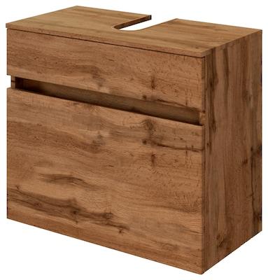 Waschbecken-Unterschrank in Holzoptik