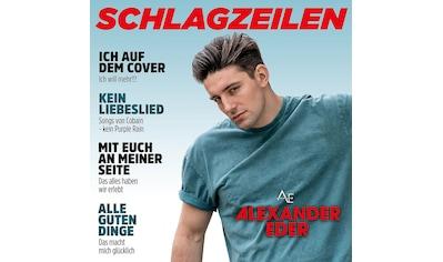 Musik-CD »Schlagzeilen / Eder,Alexander« kaufen