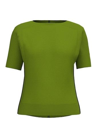 bianca 3/4 Arm-Pullover »OLINDE«, mit Fledermauseffekt und versch.Strickstrukturen kaufen