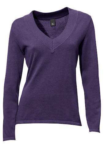 V - Pullover in taillierter Form kaufen