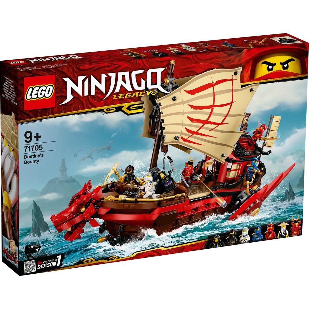 LEGO® Konstruktionsspielsteine »Ninja-Flugsegler (71705), LEGO® NINJAGO®«, (1781 St.), Made in Europe