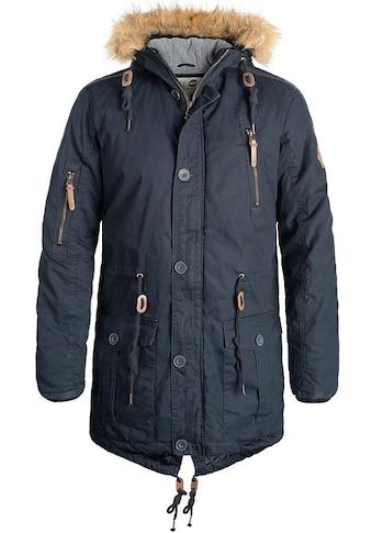 Solid Parka »Clark Parka«, warme Jacke mit abnehmbarem Kunstfellkragen kaufen