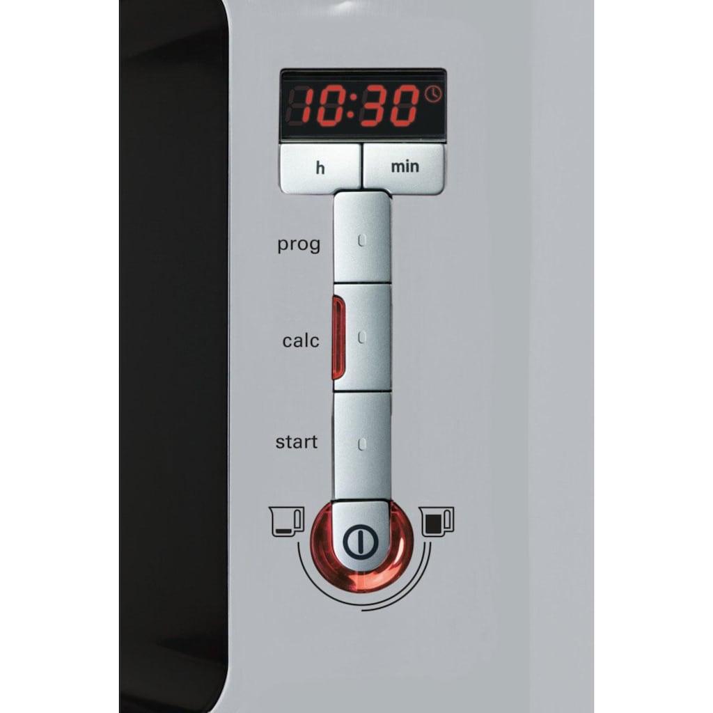 SIEMENS Filterkaffeemaschine »Sensor for Senses TC86505«, Papierfilter, 1x4, Wassertank mit Griff