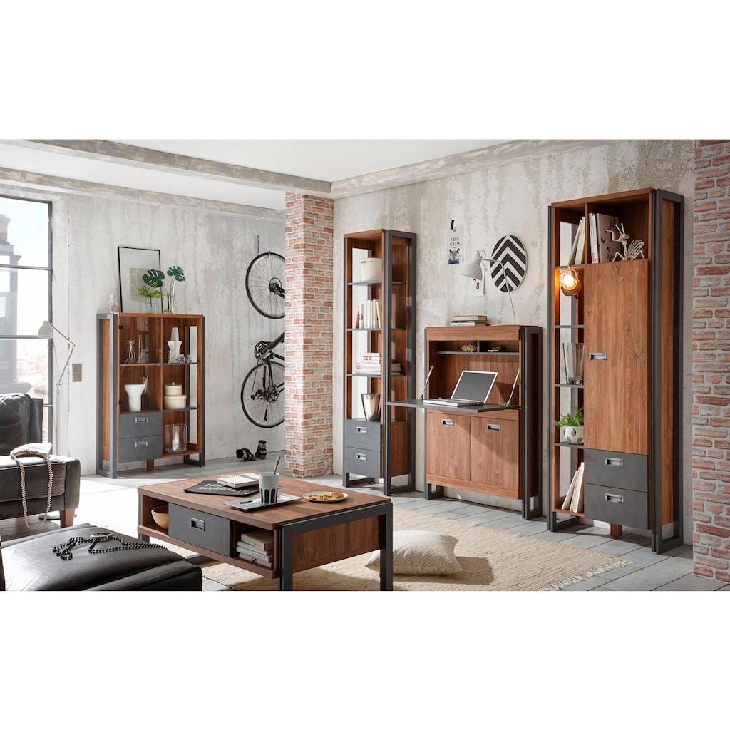 Home affaire Standregal »Detroit«, Höhe 202 cm, im angesagten Industrial Look