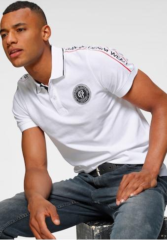Bruno Banani Poloshirt, in Piqué-Qualität kaufen