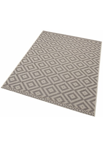 freundin Home Collection Teppich »Summer«, rechteckig, 4 mm Höhe, Rauten Design, In-... kaufen