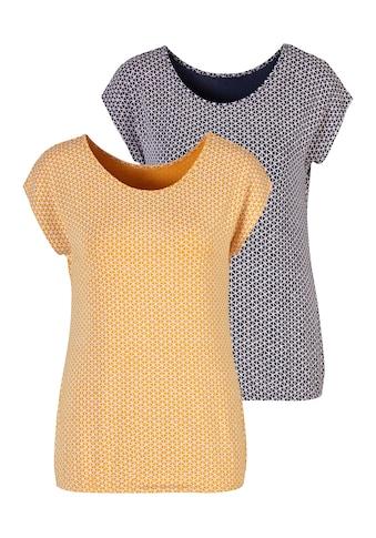 Vivance T-Shirt, mit elastischem Saum kaufen