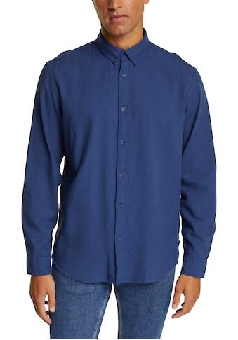 Esprit Langarmhemd, mit Button-down-Kragen kaufen