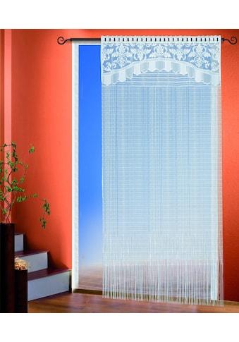 WILLKOMMEN ZUHAUSE by ALBANI GROUP Fadenvorhang »Hagen«, HxB: 245x135, Fadenstore kaufen