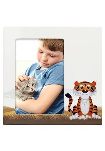 "Hama Porträtrahmen ""Tiger Liam"", Weiß, 10 x 15 cm »Porträt - Bilderrahmen« kaufen"