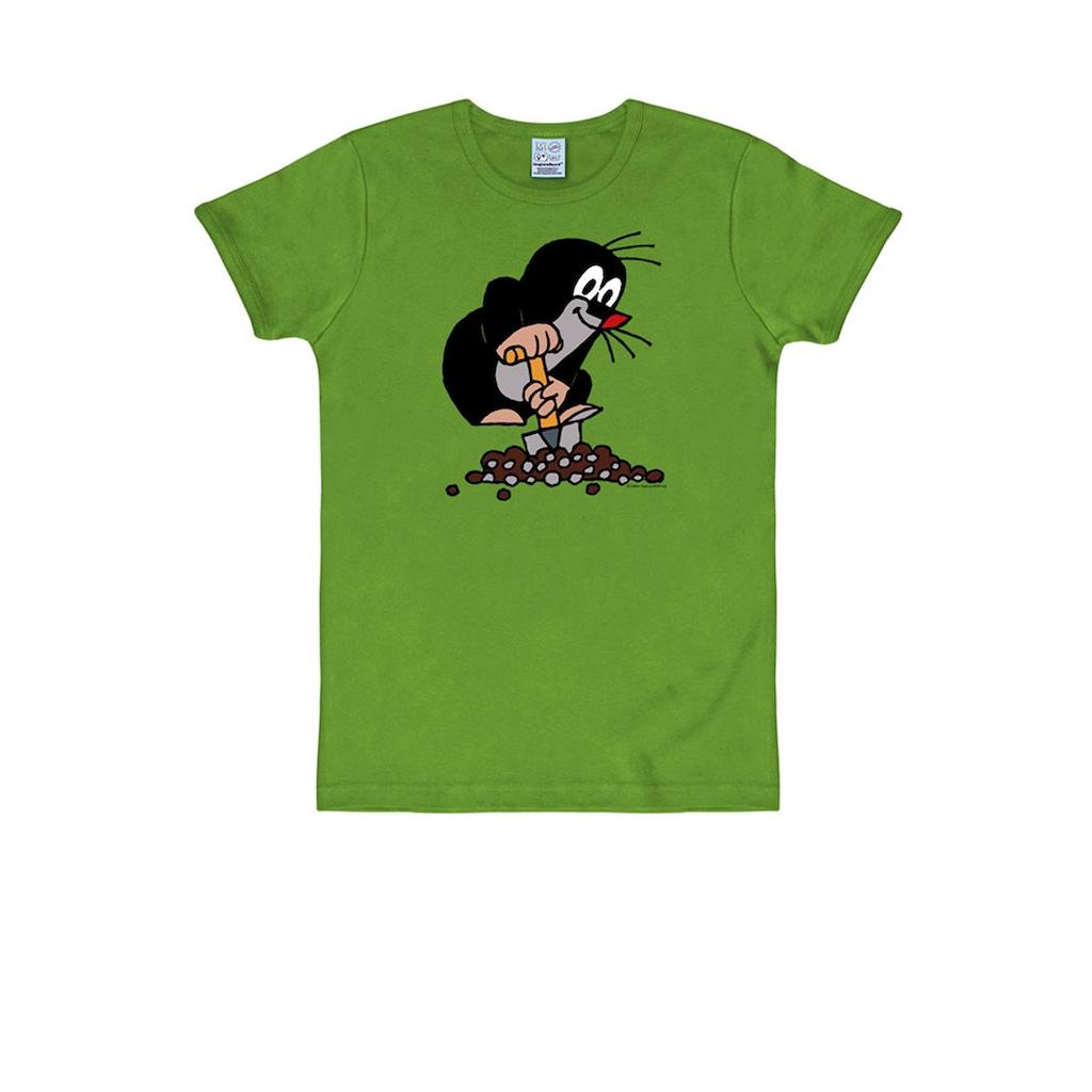 LOGOSHIRT T-Shirt mit Der kleine Maulwurf-Print