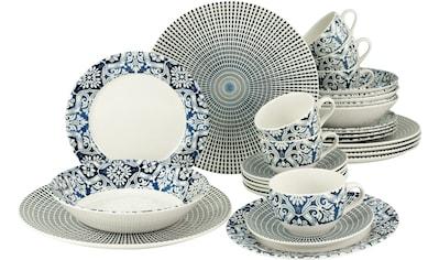 CreaTable Kombiservice »Marrakesch 2«, (Set, 30 tlg.), orientalisches Dekor kaufen